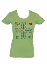 DAP SPORT triko dámské ČLOVĚČE - zelená