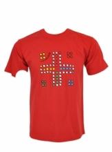 Dap Sport triko pánské Člověče - červená