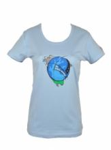 DAP SPORT triko dámské CYKLO - modrá