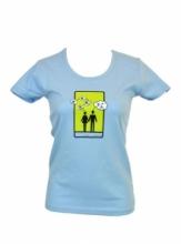 Dap Sport triko dámské Dvojice - modrá