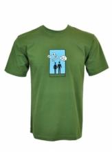 DAP SPORT triko pánské DVOJICE - zelená