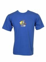 Dap Sport triko pánské Klovající Pták - modrá