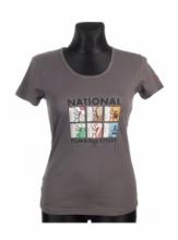 DAP SPORT triko dámské NATIONS - šedá