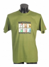 DAP SPORT triko pánské NATIONS - zelená
