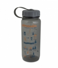 Pinguin Tritan Slim Bottle 0,65l - šedá 2020